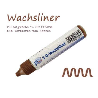 """Wachsliner Wachspen Kerzenmalstift """"Braun"""""""
