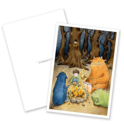 "Postkarte ""Das Monsterpicknick"""