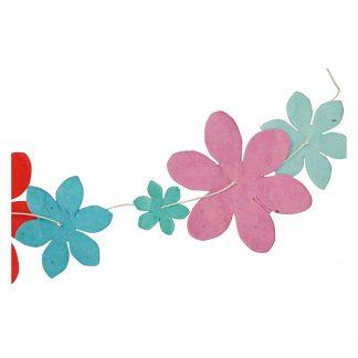 """Girlande """"Bunte Blumen"""""""