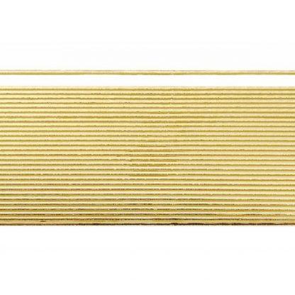 """Verzierwachsstreifen """"Flachstreifen 1mm gold"""""""