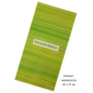 """Verzierwachsplatte """"Green Leaf"""""""