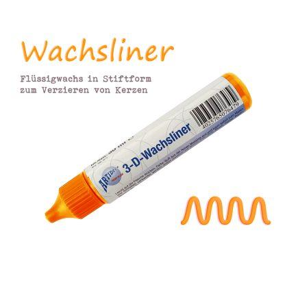 """Wachsliner Wachspen Kerzenmalstift """"Orange"""""""