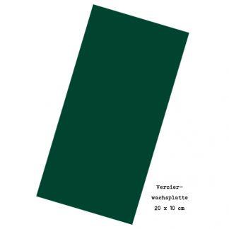 """Verzierwachsplatte """"Blaugrün"""""""