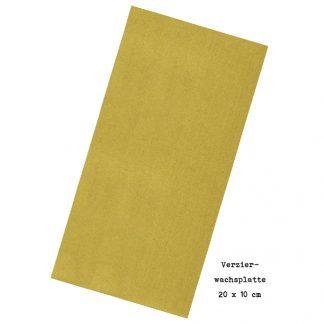 """Verzierwachsplatte """"Gold (matt)"""""""