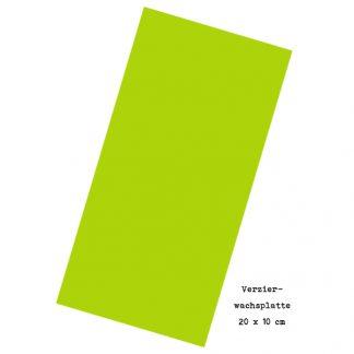 """Verzierwachsplatte """"Hellgrün"""""""